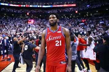 """Joel Embiid Upset After Game 7: """"I Don't Give A Damn About The Process"""""""