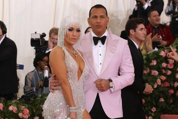 "Jennifer Lopez & Alex Rodriguez Went To Strip Clubs Together Strictly For ""Work"""