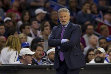 "Joel Embiid Calls ""Bulls***"" On Brett Brown Firing Rumors"