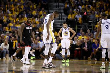 Kevin Durant Injury Update: Warriors Star Unlikely To Play In First 2 Games