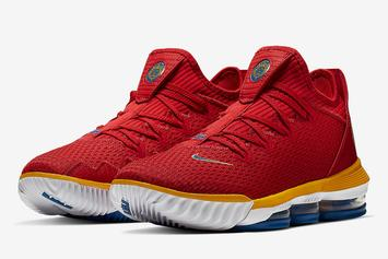 """Nike LeBron 16 Low """"SuperBron"""" Drops This Month: Official Images"""