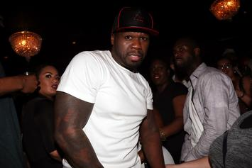 """50 Cent Beefs With BET: """"Get The F*ck Outta Here"""""""