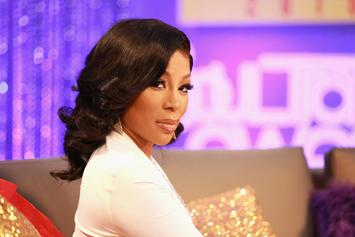 """K. Michelle & """"The Cussing Pastor"""" Engage In Screaming Match At Restaurant"""