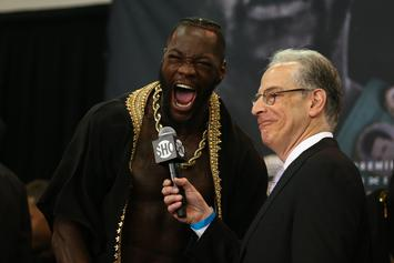 "Deontay Wilder's ""Catch A Body"" Threat Prompts Investigation Ahead Of Fight"
