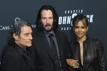 "Halle Berry Gives Thanks For ""John Wick 3"" Becoming #1 Film In America"