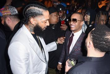 "T.I. Compares Nipsey Hussle's Death To ""Avengers"" & ""Iron Man"""