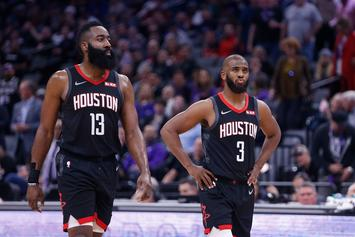 James Harden & Chris Paul Reportedly Had War Of Words After Game 6 Loss