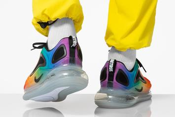 "Nike Air Max 720 ""Be True"" Colorway Revealed: On-Foot Images"
