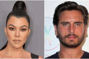 Kourtney Kardashian & Sofia Richie Were All Smiles At Scott Disick's Birthday Bash