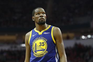 Kevin Durant Officially Ruled Out For Game 1 Of The NBA Finals