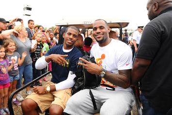 LeBron James, Chris Paul, & Russell Westbrook Link Up For Memorial Day