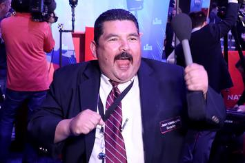 Guillermo Quizzes Raptors On Drake, Trolls Warriors At NBA Finals Media Day