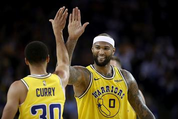 Warriors DeMarcus Cousins Will Be Active For Game 1 Of NBA Finals