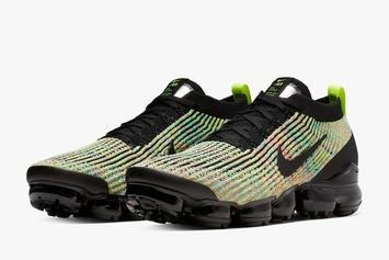 "Nike Vapormax Flyknit 3 ""Multi-Color"" Release Date Revealed: Closer Look"