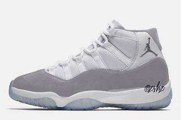 "Air Jordan 11 Releasing In ""Vast Grey"" Colorway This Year"