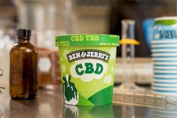 "Ben & Jerry Promise To Debut CBD-Infused Ice Cream ""As Soon As It's Legalized"""