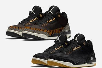 "Air Jordan 3 ""Animal Pack"" Rumored To Release This Fall"