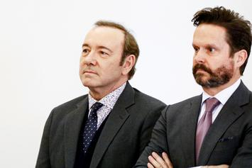 Disgraced Actor Kevin Spacey Resurfaces For Groping Trial