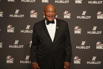 George Foreman Urges Anthony Joshua To Let Him Manage His Career