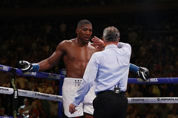 Anthony Joshua Has A Message For His Fans After Loss To Andy Ruiz Jr.