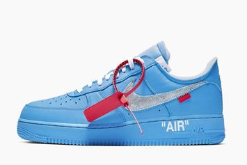 "Off-White X Nike Air Force 1 ""MCA"" To Release In Coming Weeks: Report"