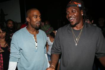 """Kanye West & Pusha T Facing Lawsuit For """"Come Back Baby"""" Sample"""