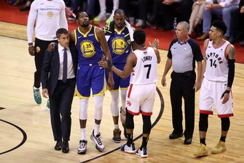Kevin Durant Injury Sparks Reaction From NBA Players On Twitter