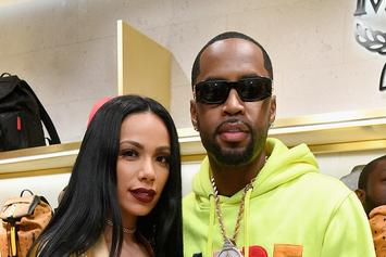 "Safaree & Erica Mena Claim They're ""TV Gold"" In Ass-Grabbing Photo"