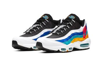 Nike Air Max 95 Brings The Vintage Windbreaker Vibes With New Colorway