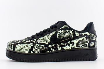 "Nike Air Force 1 Foamposite Pro Cup ""Snakeskin"" Drops Tomorrow: Photos"