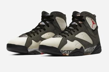 "Patta X Air Jordan 7 ""Icicle"" Coming Soon, Official Images Unveiled"