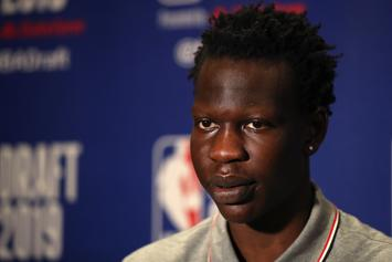 Young Thug Designed Bol Bol's Show Stealing NBA Draft Suit