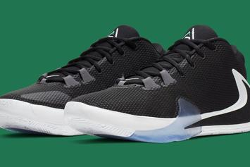 """Giannis' Nike Zoom Freak 1 """"Lucid Green"""" Drops Next Month: Official Photos"""