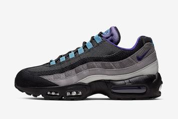 "Nike Air Max 95 ""Black Grape"" To Make Its Long-Awaited Return"