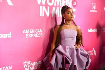 Ariana Grande Poses With Bunny Ears On Her 26th Birthday
