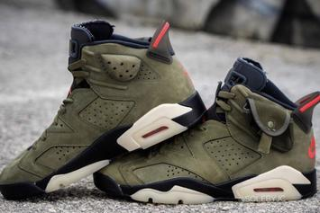Travis Scott x Air Jordan 6 Revealed In Detail: Best Look Yet