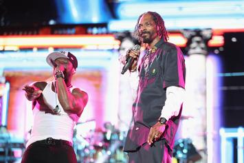 "Snoop Dogg Roasts 50 Cent Over ""Versace Print"" Lambo: ""I Gon Take His Car, Call It Even"""