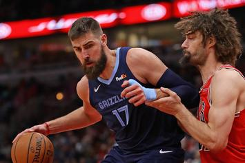 Jonas Valanciunas Strikes Three-year, $45 Million Agreement With Memphis Grizzlies