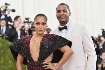 """La La Anthony Reportedly In """"Legal Discussions"""" To Figure Out Next Step With Carmelo"""