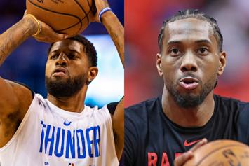 Paul George Joins Forces With Kawhi Leonard On LA Clippers