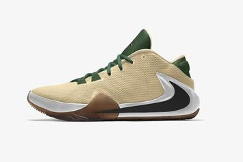 """Giannis' Nike Zoom Freak 1 Is Now Customizable With """"Nike By You"""""""