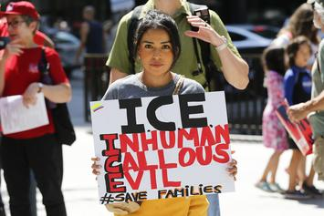 "ICE Conducts Raids Over The Weekend: 2,000 ""Illegal"" Families Risk Expulsion"