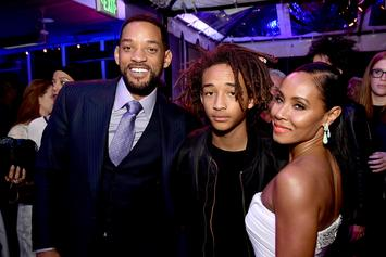 "Will Smith & Jada Pinkett Joke Jaden ""Got Here"" Because Of Tequila On 21st B-Day"