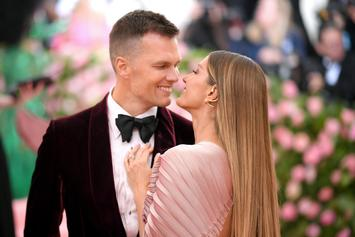 Tom Brady Grabs A Handful Of Gisele's Booty During Beach Make Out Session
