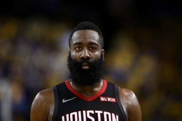 "James Harden Claims His New Shot Will ""Look Like It's A Travel"""