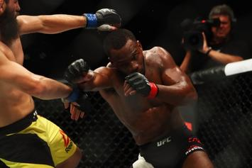 """Leon Edwards Challenges Jorge Masvidal After Whooping Dos Anjos At """"Fight Night"""""""