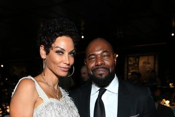 "Nicole Murphy Spotted Kissing Married Man; Says They're Just ""Family Friends"""