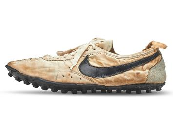 """Nike Waffle Racing """"Moon Shoe"""" Goes For $437K At Auction"""
