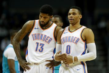 Russell Westbrook & Paul George Were Both Concerned About OKC's Future: Report