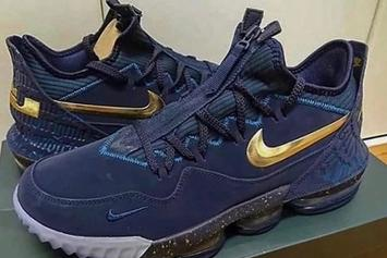 "Nike LeBron 16 Teased In New ""Agimat"" Colorway: First Look"